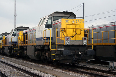 7870 at Antwerp Nord Depot on 20th August 2006