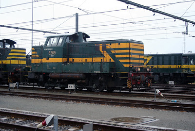 8269 at Antwerp Nord Depot on 20th August 2006