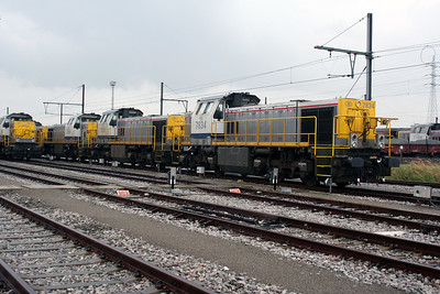 7834 at Antwerp Nord Depot on 20th August 2006