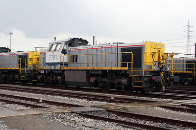 7701 at Antwerp Nord Depot on 20th August 2006
