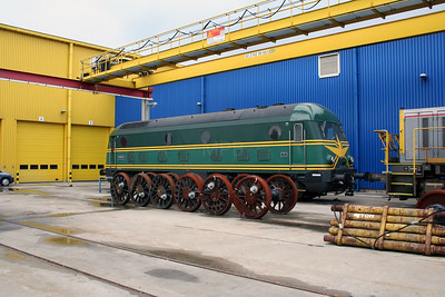 1) 201 010 at Antwerp Nord Depot on 20th August 2006