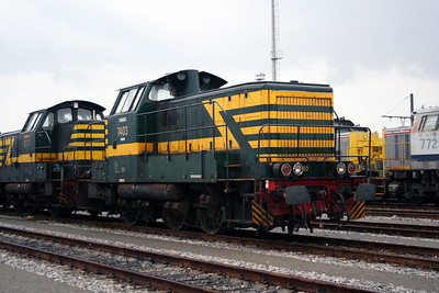 7403 at Antwerp Nord Depot on 20th August 2006