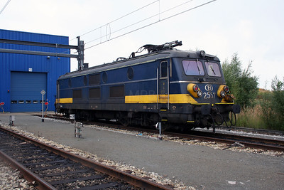 2557 at Antwerp Nord Depot on 20th August 2006