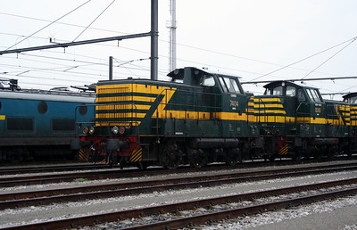 7404 at Antwerp Nord Depot on 20th August 2006