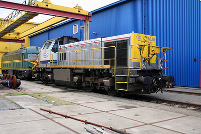 7836 at Antwerp Nord Depot on 20th August 2006