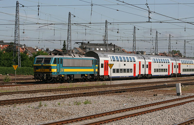 2747 at Brussels Nord on 23rd June 2008