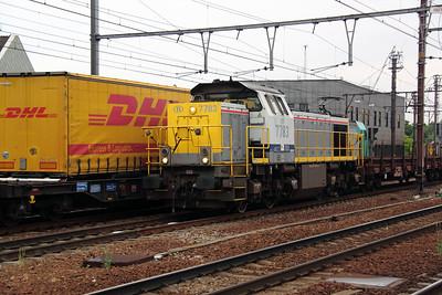 7783 (92 88 0077 083-8 B-B) at Antwerp Berchem on 11th June 2012