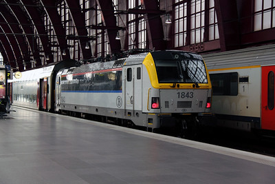 1843 at Antwerp Central on 11th June 2012