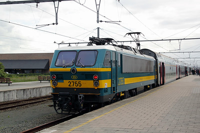 2) 2755 (91 88 027 0550-2 B-B) at Knokke on 9th June 2012