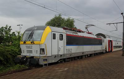 1862 (91 88 0180 620-2 B-B) at Antwerp Berchem on 11th June 2012 working IC2017