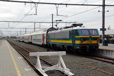 1) 2755 (91 88 027 0550-2 B-B) at Knokke on 9th June 2012