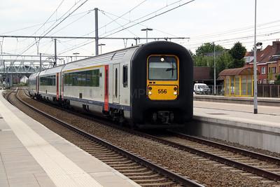 556 at Merelbeke on 10th June 2012 working IR3534