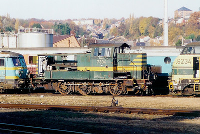 7334 at Salzinnes Works on 9th November 2003