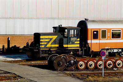9131 at Salzinnes Works on 9th November 2003