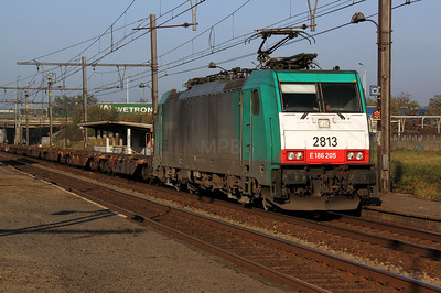 2813 (91 88 7186 205-1 B-B) at Antwerp Noorderdokken on 14th November 2011