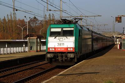 2811 at Antwerp Noorderdokken on 14th November 2011