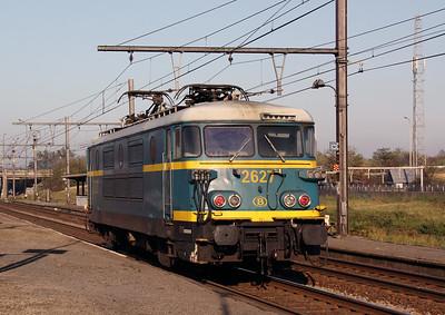 2627 at Antwerp Noorderdokken on 14th November 2011