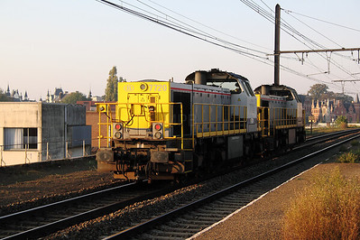 7720 at Antwerp Oost on 24th October 2011