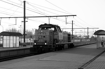1) 7703 at Antwerp Luchtbal on 24th October 2011