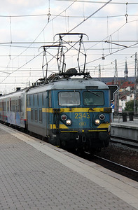2343 at Brussel Nord on 21st October 2011 working P8014