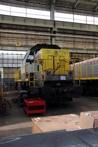 7747 at Salzinnes Works on 22nd October 2011