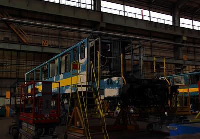 2) 2713 at Salzinnes Works on 22nd October 2011