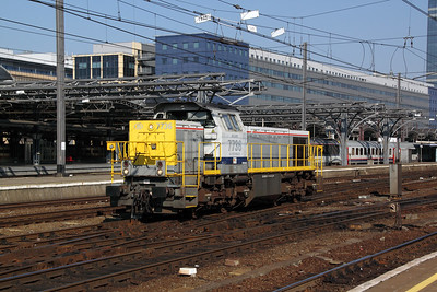 7736 at Brussel Midi on 24th October 2011