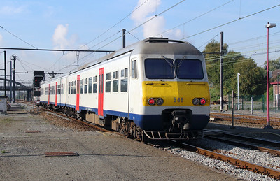348 (94 88 0803 481-8 B-B) at Mouscron on 2nd October 2014 (1)