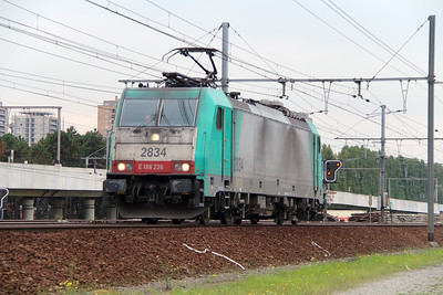 2834 (91 88 7186 226-7 B-B) at Antwerpen Luchtbal on 2nd October 2014 (5)