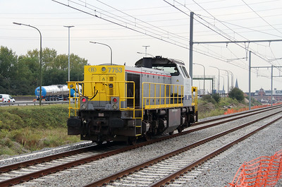 7753 (92 88 0077 053-1 B-BLX) at Antwerpen Luchtbal on 2nd October 2014 (4)