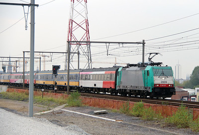 2809 (91 88 7186 201-0 B-B) at Antwerpen Luchtbal on 2nd October 2014 (2)