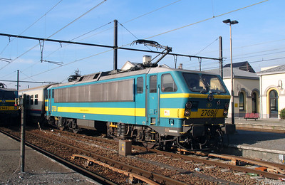 2709 (91 88 0270 490-4 B-B) at Mouscron on 2nd October 2014