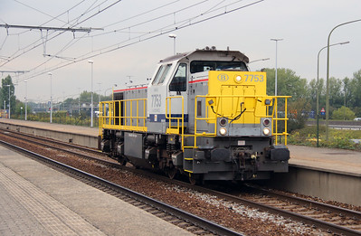 7753 (92 88 0077 053-1 B-BLX) at Antwerpen Luchtbal on 2nd October 2014 (3)