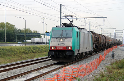 2820 (91 88 7186 212-7 B-B) at Antwerpen Luchtbal on 2nd October 2014