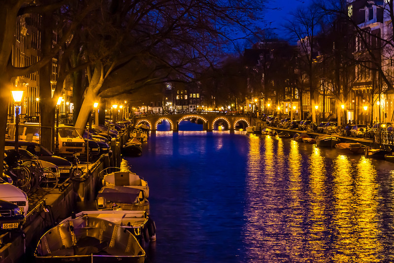 THE NETHERLANDS-AMSTERDAM-CANAL RING