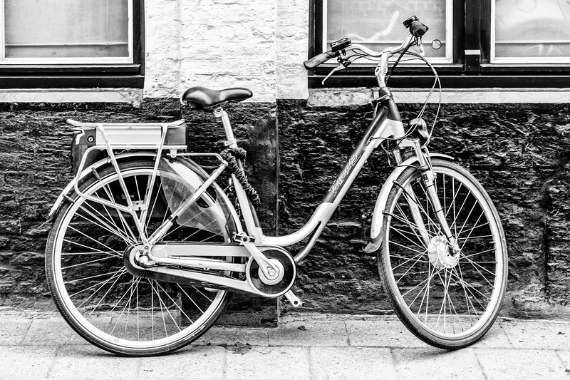Belgium-Brugge-Bicycle at rest