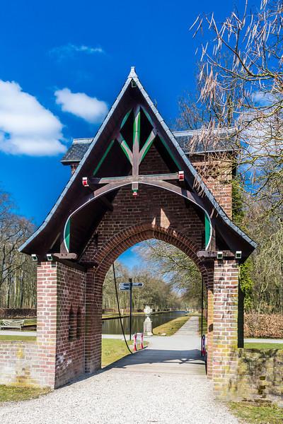 THE NETHERLANDS-HAARZUILENS-De Haar Castle