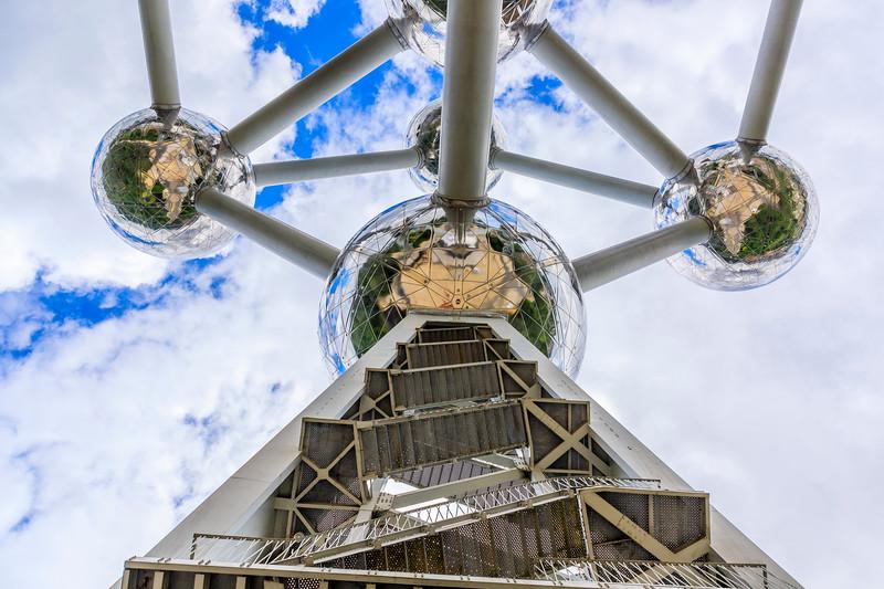 Belgium-Brussels-Capital Region-Atomium