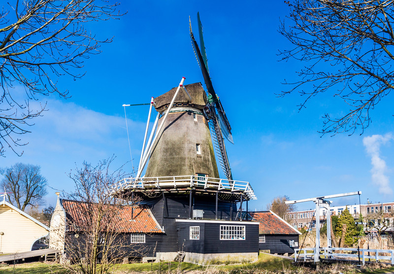 "THE NETHERLANDS-UTRECHT-""DER STER"" WINDMILL"