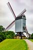 Belgium-Brugge-Bonne Chieremolen<br /> Windmill