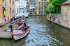 Belgium-Brugge-Dijver Canal