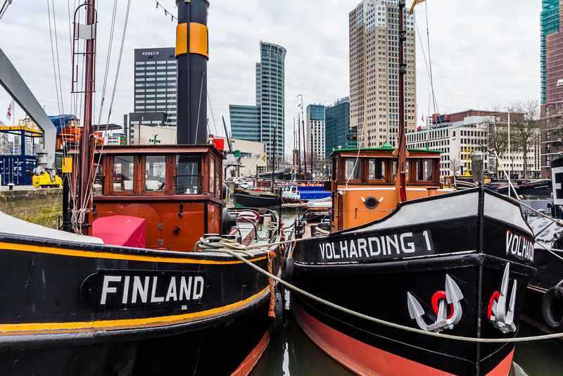 THE NETHERLANDS-ROTTERDAM-HARBOR