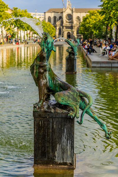 Belgium-Brussels-Capital Region-Fontaine Anspach
