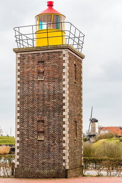 THE NETHERLANDS-WILLEMSTAD-WILLEMSTAD LIGHTHOUSEAD