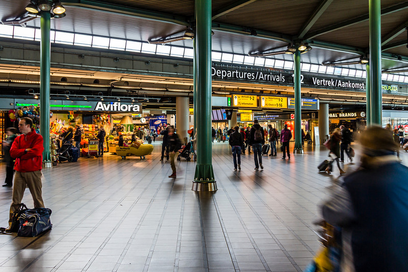 THE NETHERLANDS-SCHIPHOL AIRPORT