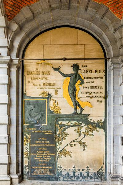 BELGIUM-BRUSSELS-HOTEL DEVILLE