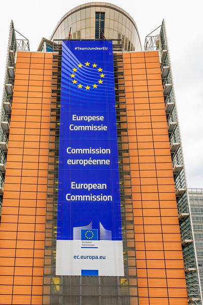 Belgium-Brussels-Capital Region-E U Building