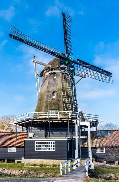 """THE NETHERLANDS-UTRECHT-""""DER STER"""" WINDMILL"""