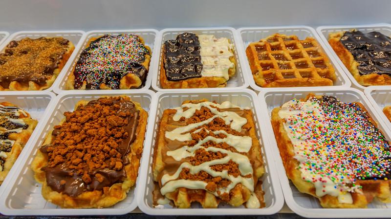 Belgium-Brussels-Capital Region-Belgian waffles