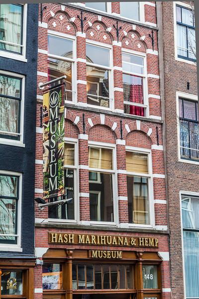 THE NETHERLANDS-AMSTERDAM-HASH MARIHUANA&HEMP MUSEUM